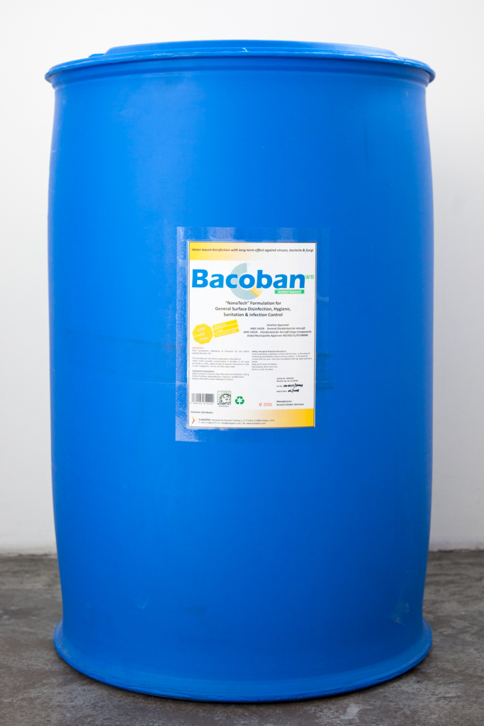 Bacoban WB Disinfectant (RTU) Cabin Interior Cleaning