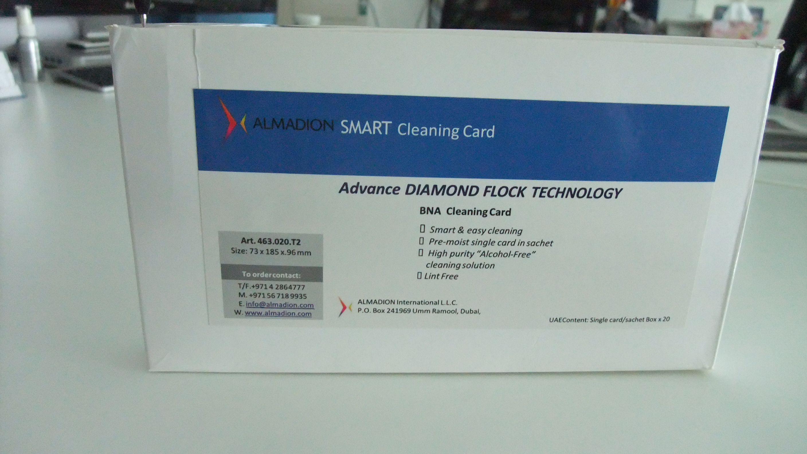 Smart BNA T2 Cleaning Card All Products