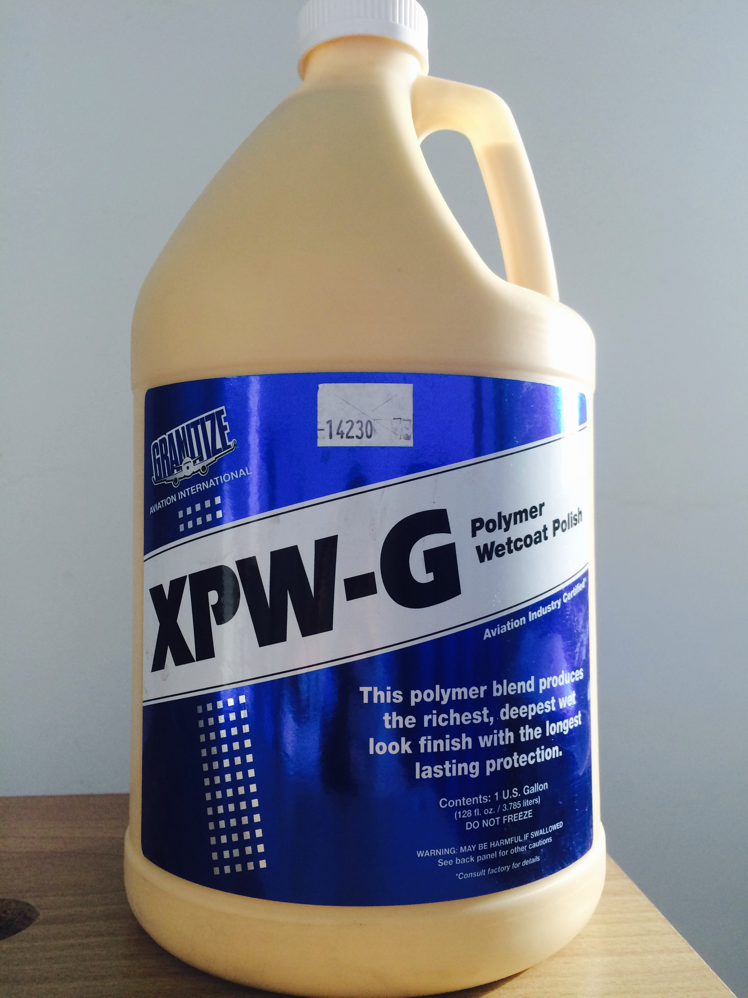 Xzilon Polymer Wetcoat Polish Brightwork Solutions